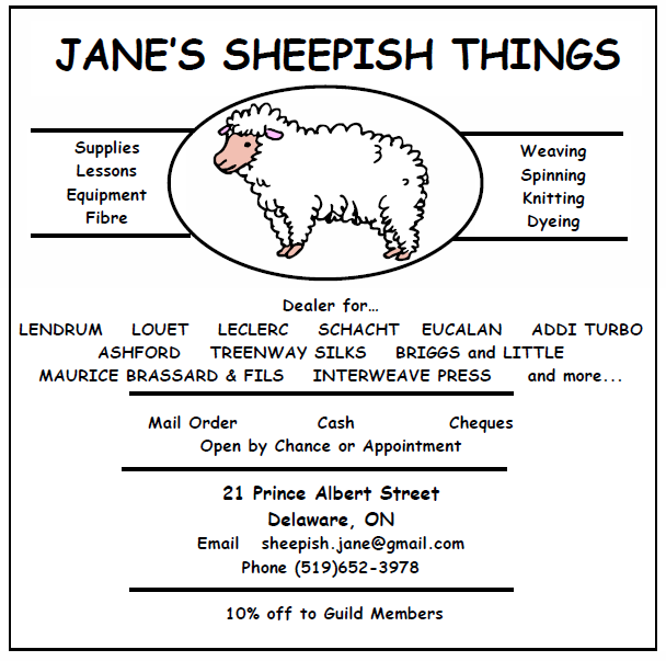 Jane's sheepish things